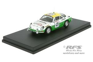【送料無料】模型車 スポーツカー アルプスルノーa110ラリーde1976gusciani 143 trofeu tdc 011alpine renault a110 rallye tour de corse 1976gusciani 143 trofeu tdc 011