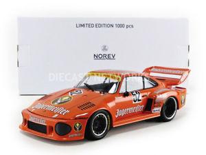 【送料無料】模型車 スポーツカー ポルシェnorev 118 porsche 935 jagermeister drm zolder 1977 187435