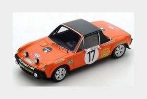 【送料無料】模型車 スポーツカー ポルシェ914617montecarlo1971アンダースソーンthorszelius143 s5584 mporsche 9146 17 rally montecarlo 1971 andersson thorszelius spark 14