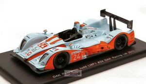 【送料無料】模型車 スポーツカー カシpescaroloジャッド24ルマン2011 143s2524モデルoak pescarolojudd 24 le mans 2011 143 spark s2524 model