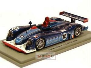 【送料無料】模型車 スポーツカー ダラーラスパークdallara oreca n 15 lm 2002 143 spark sp0159