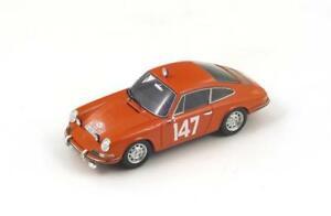 【送料無料】模型車 スポーツカー ポルシェモンテカルロスパークモデルporsche 911t n147 5th monte carlo 1965 lingefalk 143 spark s4020 model
