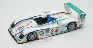 【送料無料】模型車 スポーツカー アウディ#ルマンスパークモデルaudi r 8 2 3rd le mans 2005 143 spark sp0671 model