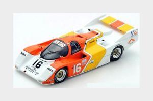 【送料無料】模型車 スポーツカー ポルシェ962162h1985ドレークオルソンスパーク143 us031モデル