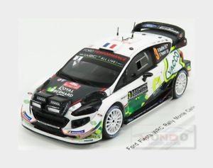 【送料無料】模型車 スポーツカー フォードフィエスタスポーツフォード#ラリーモンテカルロスパークモデルford fiesta wrc msport ford wrt 3 rally montecarlo 2018 spark 143 s5953 model