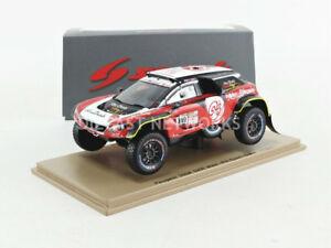 【送料無料】模型車 スポーツカー スパークプジョーマキシダカールspark 143 peugeot 3008 dkr maxidakar 2018s5623