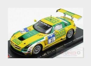 【送料無料】模型車 スポーツカー メルセデスグアテマラモータースポーツ#ニュルブルクリンクスパークシングルメートルmercedes sls amg gt3 car coll motorsport 31 nurburgring 2015 spark 143 sg195 m