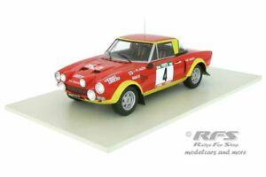 【送料無料】模型車 スポーツカー フィアットアバルトラリーポルトガルネットワークfiat 124 abarth olio rally portugal 1975 markku alen 118 altaya ixo