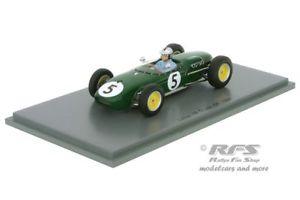 【送料無料】模型車 スポーツカー ロータス18アランステーシー 1オランダgp 19601435342lotus 18 climax alan stacey formula 1 dutch gp 1960143 spark 5342