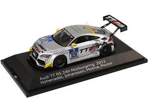 【送料無料】模型車 スポーツカー アウディタイヤ143 audi tt rs 24 h nrnburgring 2011 tires nr126 hohenadel molina dealer