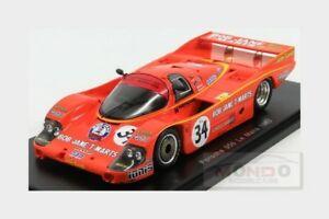 【送料無料】模型車 スポーツカー ポルシェ956チームオーストラリア3424hルマン1984lパーキンズブロックスパーク143 s5520