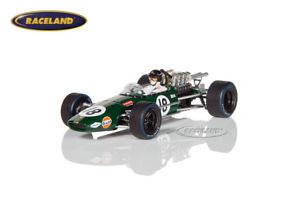 【送料無料】模型車 スポーツカー ブラバムオランダダンガーニースパークモデルbrabham bt24 repco v8 f1 gp holland 1968 dan gurney, spark model 143, s4779
