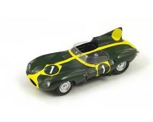 【送料無料】模型車 スポーツカー ジャガークモ#フランシススパークモデルjaguar d spider 1 suzuka 1963 f francis green yellow spark 143 sj017 model