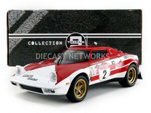 【送料無料】模型車 スポーツカー トリプルランチアサンレモスケールtriple9 lancia stratos winner san remo 1974 118th scale