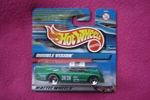 【送料無料】模型車 スポーツカー ホットホイールダブルビジョン#ミントhot wheels double vision 29267 mint and carded c1998
