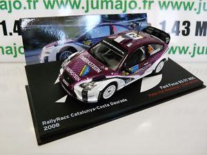 【送料無料】模型車 スポーツカー ネットワークラリーフォーカスrbe8m car 143 ixo altaya rally focus rs 07 wrc 2008 catalonia