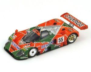 【送料無料】模型車 スポーツカー マツダ#ルマンスパークメートルmazda 787 b 55 vainqueur le mans 1991 weidler herbert gachot spark 143 sj004 m