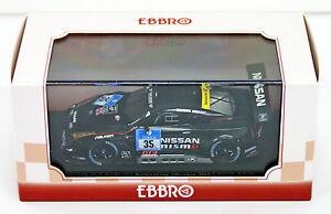【送料無料】模型車 スポーツカー ニスモニュルブルクリンクレーススケールebbro 45481 nissan gtr nismo gt3 nurburgring 24h race 2015 35 143 scale
