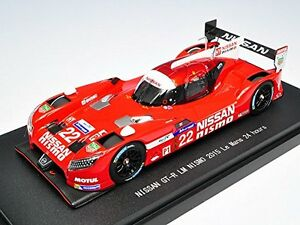 【送料無料】模型車 スポーツカー ニスモルマンレッドスケールebbro 45255 nissan gtr lm nismo 2015 le mans 24 hours 22 red 143 scale