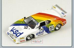 【送料無料】模型車 スポーツカー bmw m 15116le mans 1981 143スパークsp1581bmw m 1 51 16th le mans 1981 143 spark sp1581