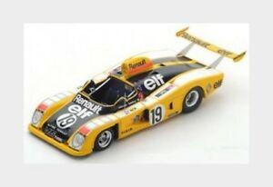 【送料無料】模型車 スポーツカー ルノーアルプスa44219レ1976jabouille ptambay dolhem spark 143 s1551renault alpine a442 19 le mans 1976 jabouille ptambay dolhem spa