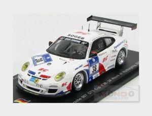 【送料無料】模型車 スポーツカー 2013spark 143 sg088 mnurburgring38porsche 911 9972 gt3カップチームbgporsche 911 9972 gt3 cup team bg racing 38 nurburgring 2013