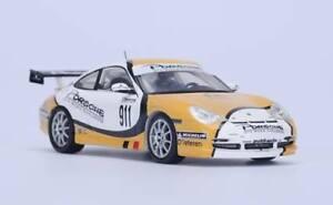 【送料無料】模型車 スポーツカー ポルシェグアテマラ#グアテマライエローホワイトスパークモデルporsche 996 gt3 911 gt3 road challenge 2004 yellow white spark 143 s4479 model