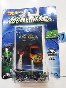 【送料無料】模型車 スポーツカー ホットホイール#ゲームカード2004 hot wheels acceleracers rd 10 69 3 collectible game cards