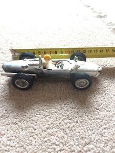 【送料無料】模型車 スポーツカー シルバープラスチックレーサーレーシングカーbpp silver plastic friction racer racing car 1001 made in hong kong