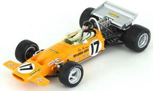 【送料無料】模型車 スポーツカー マクラーレンダンガーニーフランスグランプリスパークmclaren m14a dan gurney french gp 1970 143 spark s4844