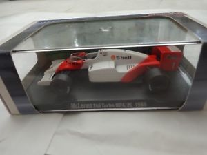【送料無料】模型車 スポーツカー ボックスアトラスエディションマクラーレンタグターボアランプロストカーboxed rba atlas editions 143 mclaren tag turbo mp42c alain prost 1986 f1 car