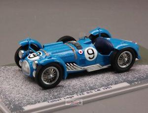 【送料無料】模型車 スポーツカー g#ルマンモデルtalbot lago t26 gs 9 le mans 1951 143 bizarre bz494 model