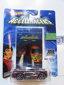 【送料無料】模型車 スポーツカー hot wheels 2004 acceleracers rollinthunder69 3 collectible game cardshot wheels 2004 acceleracers rollin thunder 69 3 coll