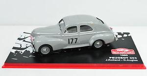 【送料無料】模型車 スポーツカー プジョー203 rallye montecarlo1960177143peugeot 203 rallye montecarlo 1960 177 scale 143