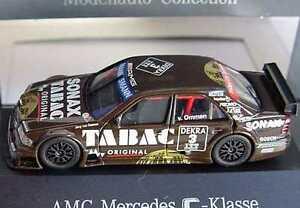 【送料無料】模型車 スポーツカー メルセデスクラスタバコヴァンディーラーエディション187 mercedes cclass dtm 1995 amg tabac 3 jrg van ommen dealer edition