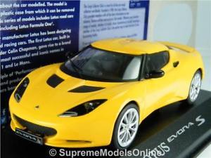 【送料無料】模型車 スポーツカー ロータスエボラカーモデルサイズドアスポーツイエローズlotus evora s car model 143rd size 2 door sports yellow ltd ed type y0675j^*^