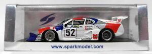 【送料無料】模型車 スポーツカー スパークモデルスケール#ルマンspark models 143 scale resin s1583 bmw m1 52 winner le mans 1981