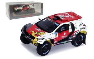 【送料無料】模型車 スポーツカー スパークプジョーダカールラリーロマンデュマスケールspark s4879 peugeot 2008 dkr15 dakar rally 2016 romain dumas 143 scale