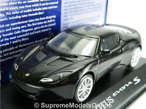 【送料無料】模型車 スポーツカー ロータスエボラスターライトブラックカーモデルサイズドアタイプ