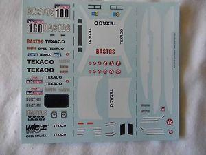 【送料無料】模型車 スポーツカー  143 opel manta 400ディーキャルcolsoul1985ダカールモータースポーツ 143 opel manta 400 decal colsoul 1985 dakar rally motorsport