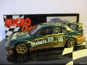 【送料無料】模型車 スポーツカー メルセデスベンツ#クルトmercedesbenz e190 2516 evo2, 18, kurt thiim, dtm 1992, 164