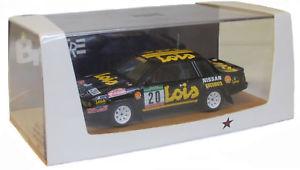 【送料無料】模型車 スポーツカー ルピーポルトガルラリーメンデススケールbizarre bz332 nissan 240rs portugal rally 1985 mendes 143 scale