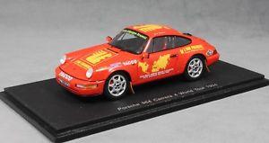 【送料無料】模型車 スポーツカー スパークポルシェカレラワールドツアーリオトーspark porsche 911 964 carrera 4 world tour 1994 liautaud s1373 143