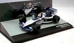 【送料無料】模型車 スポーツカー formula 1f1 143 diecast brabham bmw bt52b5nelson piquet europe gp 1983formula 1 f1 143 diecast brabham bmw bt52b 5 nelson