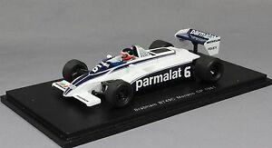 【送料無料】模型車 スポーツカー スパークブラバムモナコグランプリspark brabham bt49c monaco f1 grand prix 1981 hector rebaque s4348 143