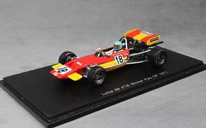 【送料無料】模型車 スポーツカー スパークロータスポーグランプリspark lotus 69 pau grand prix winner 1971 rene wisell s2147 143