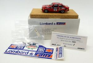 【送料無料】模型車 スポーツカー motorpro 143pro16フォードエスコートrs18001976ロンバルドラリーmotorpro 143 scale resin pro16 ford escort rs1800 winner 1976 lombard rally