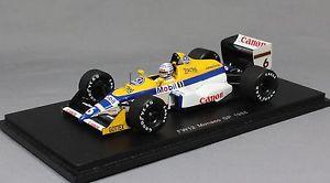 【送料無料】模型車 スポーツカー スパークウィリアムズモナコグランプリリッカルドspark williams fw12 monaco grand prix 1988 riccardo patrese s4028 143 resin