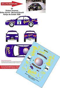 【送料無料】模型車 スポーツカー 132decals ref20subaru impreza wrx didier auriol rally suede1996rally wrcdecals 132 ref 20 subaru impreza wrx didier auriol