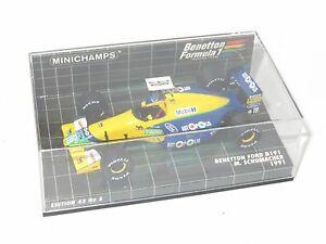 【送料無料】模型車 スポーツカー 143ベネトンフォードb1911991 mschumacher143 benetton ford b191 season 1991  mschumacher